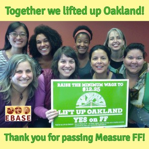 Together we lifted up Oakland!